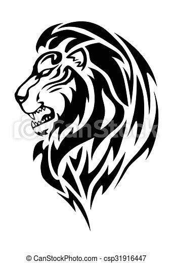 tatouage lion t te simple t te blanc lion dessin rechercher des illustrations. Black Bedroom Furniture Sets. Home Design Ideas