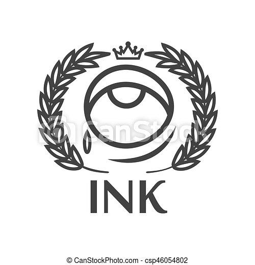 tatouage salon roi couronne larme tiquette encre clipart vectoriel rechercher. Black Bedroom Furniture Sets. Home Design Ideas