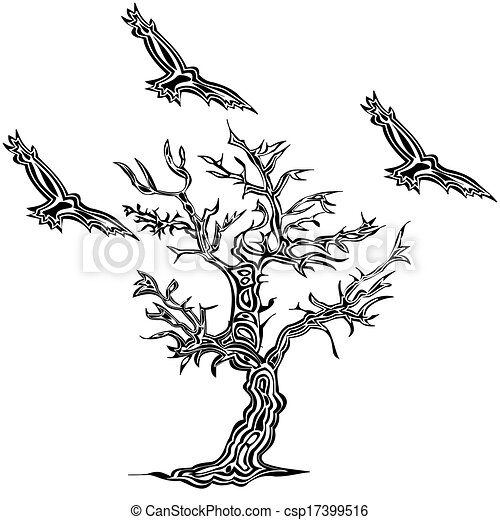 tatouage style arbre oiseau clipart recherchez illustrations dessins et images vectoris es. Black Bedroom Furniture Sets. Home Design Ideas