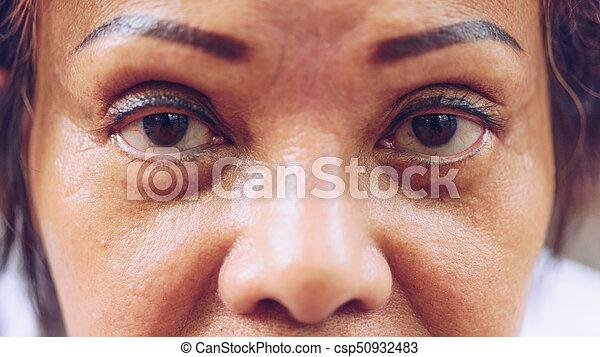 Tatouage Yeux Elle Exposition Sourcil Aine Femmes Asiatiques Tatouage Yeux Elle 60s Exposition Cornee Sourcil