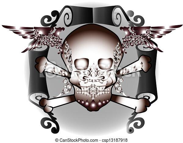 tattoo art - csp13187918