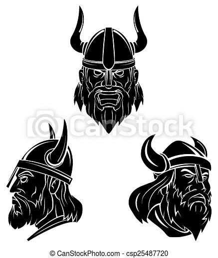 Tattoo Symbol Of Viking - csp25487720