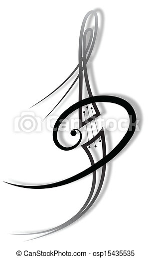 tatuagem, música - csp15435535