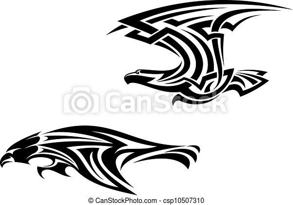 Tatuagens Tribal Pássaros Mascotes