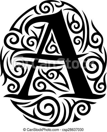 disegno tatuaggio tribale
