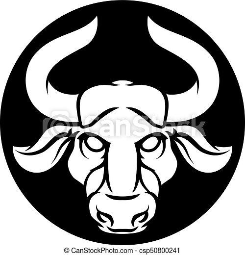 Taurus Bull Zodiac Astrology Sign Zodiac Signs Circular Taurus Bull
