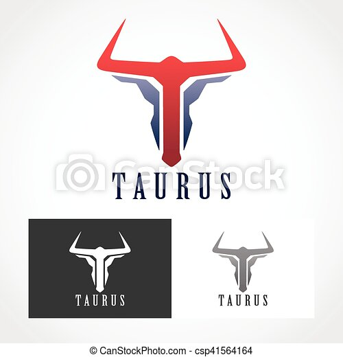 Taurus Logo Symbol Suitable For Professional Design Use Clip Art