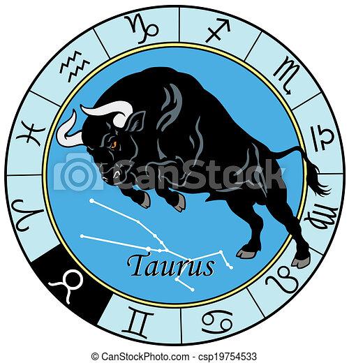 taurus zodiac sign - csp19754533