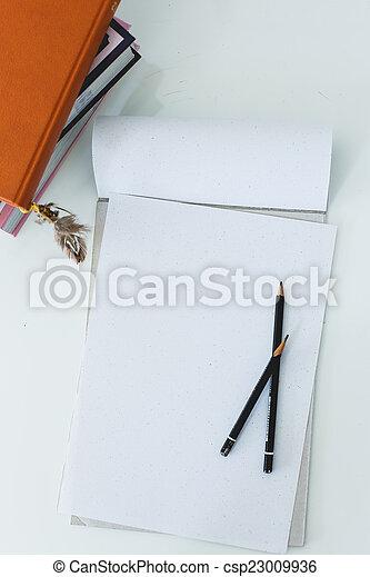 tavola, blocco note - csp23009936