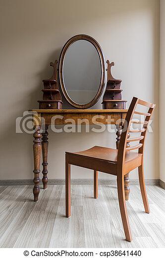 tavola, classico, abbigliamento - csp38641440