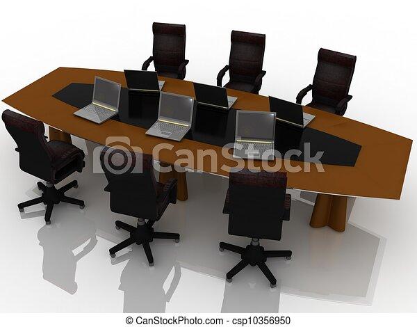 tavola, conferenza - csp10356950
