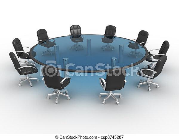 tavola, conferenza - csp8745287