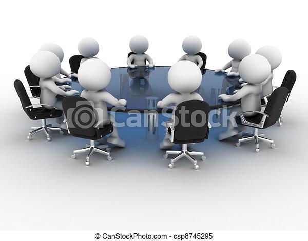 tavola, conferenza - csp8745295