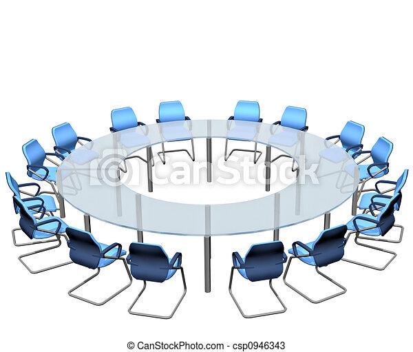 tavola, conferenza - csp0946343