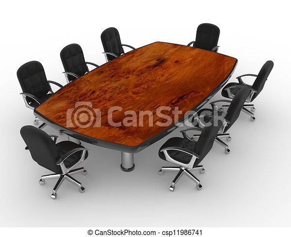 tavola, conferenza - csp11986741