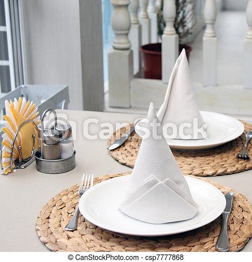 tavola, poco - csp7777868