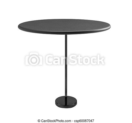 tavola, rotondo, isolato - csp60087047