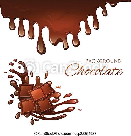 Tavoletta Di Cioccolato Disegno.Tavoletta Di Cioccolato Schizzi Latte Schizzo Sbarra Dessert