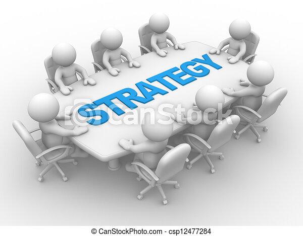 tavolo conferenza - csp12477284