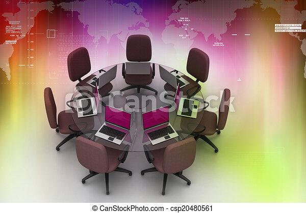 tavolo conferenza - csp20480561