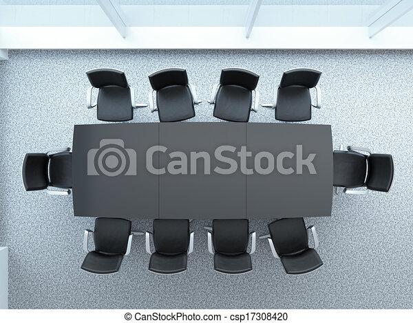 tavolo conferenza - csp17308420