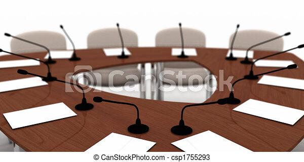 tavolo conferenza - csp1755293