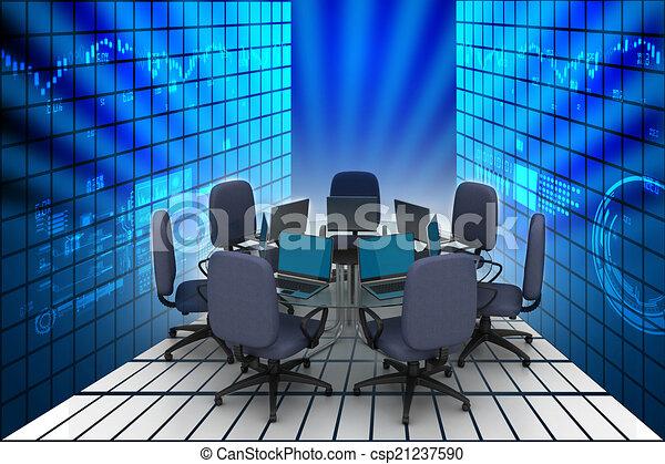 tavolo conferenza - csp21237590