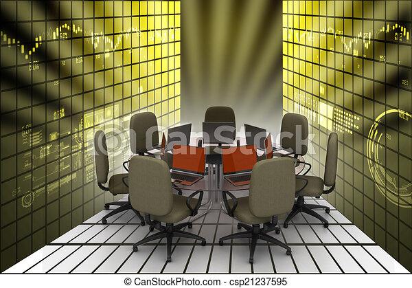tavolo conferenza - csp21237595