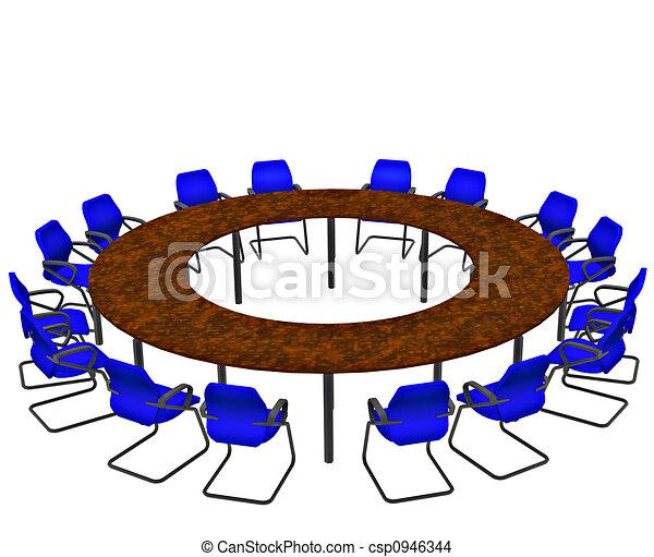 tavolo conferenza - csp0946344