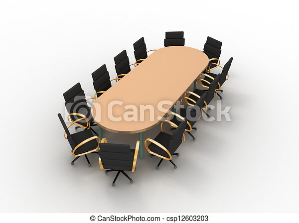 tavolo conferenza - csp12603203