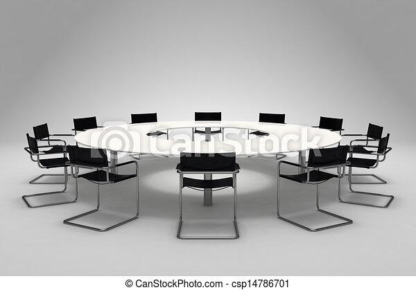 tavolo conferenza - csp14786701