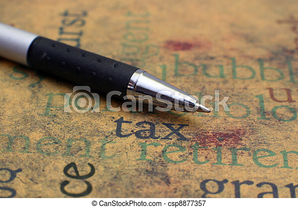Tax concept - csp8877357