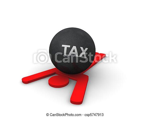 Tax Concept  - csp5747913