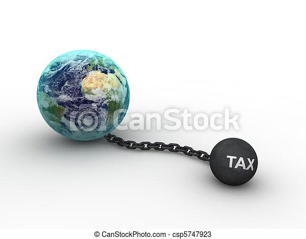 Tax Concept  - csp5747923