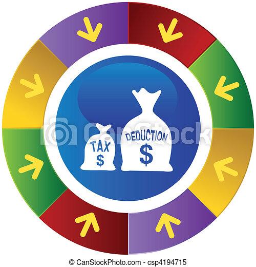 Tax Deduction - csp4194715