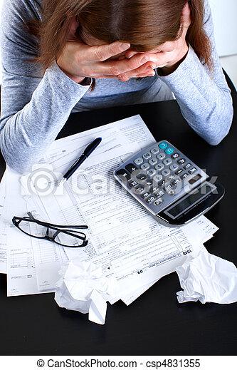 Tax Form  - csp4831355