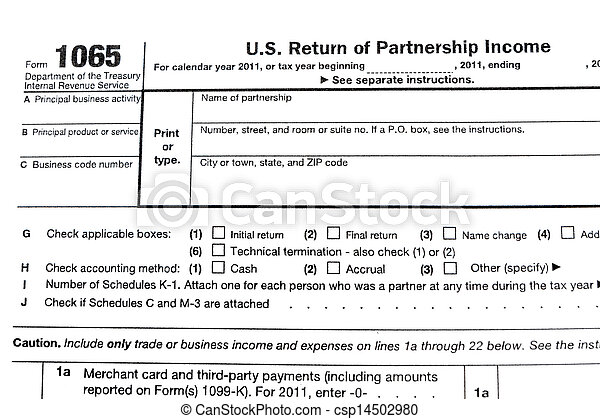 form 1065 technical termination  Tax forms 11