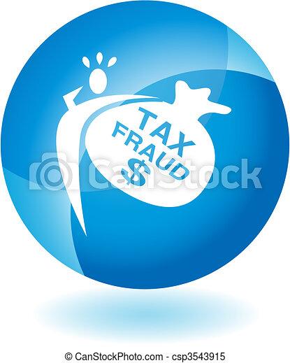 Tax Fraud - csp3543915