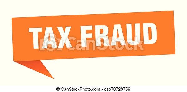 tax fraud - csp70728759