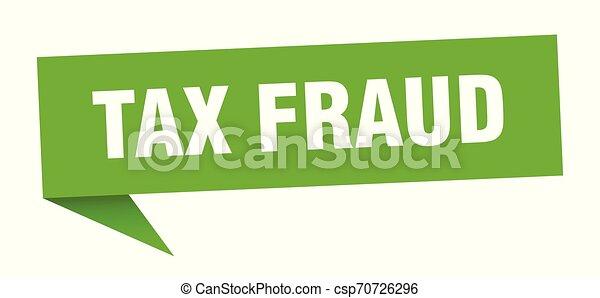 tax fraud - csp70726296