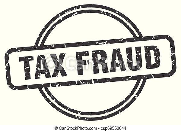 tax fraud - csp69550644