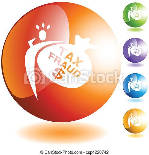Tax Fraud - csp4220742