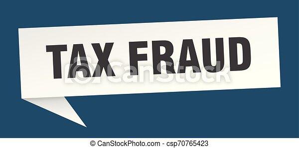 tax fraud - csp70765423