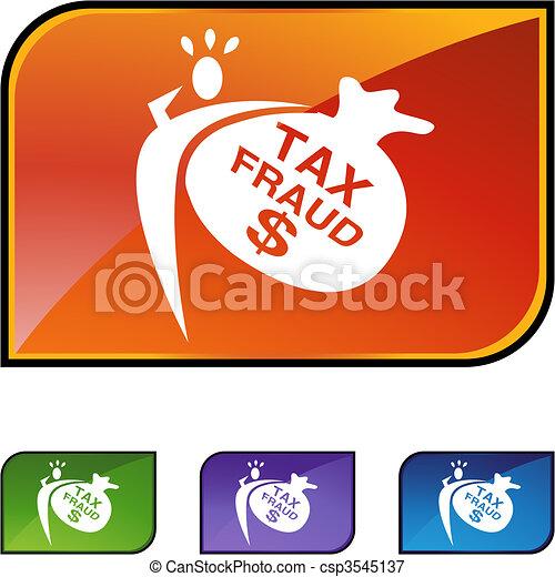 Tax Fraud - csp3545137