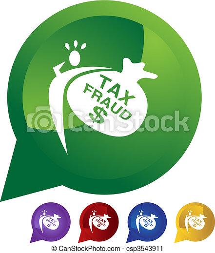 Tax Fraud - csp3543911