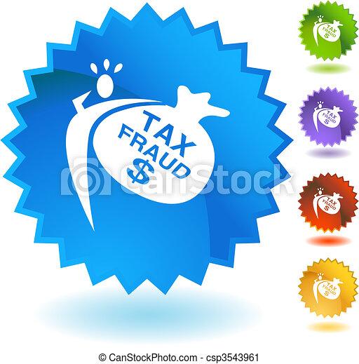 Tax Fraud - csp3543961