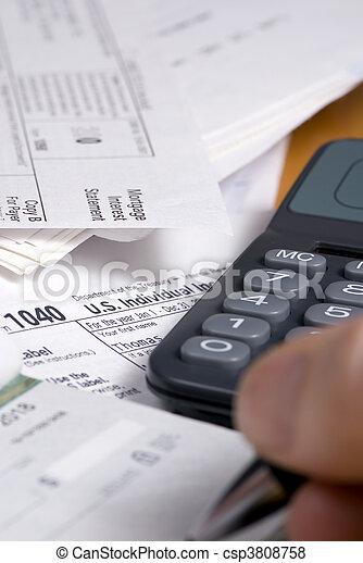 Taxes 2 - csp3808758