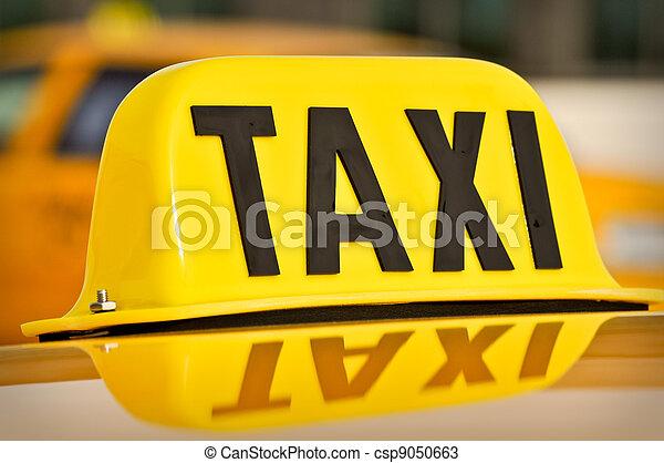 Taxi - csp9050663