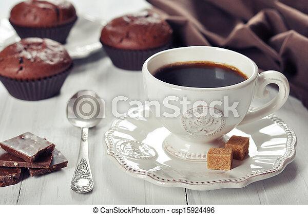 Una taza de café - csp15924496