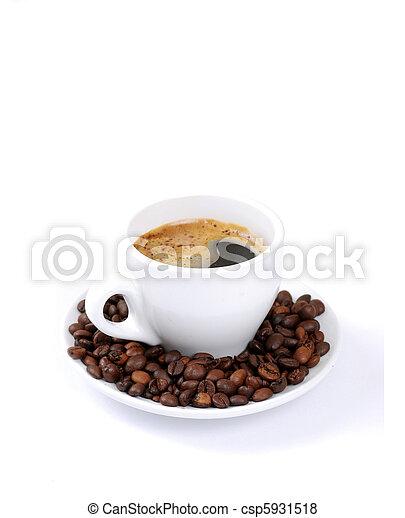 Una taza de café - csp5931518